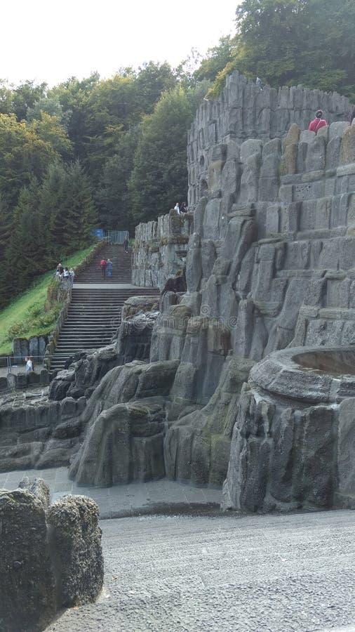 Góra w Kassel zdjęcia royalty free