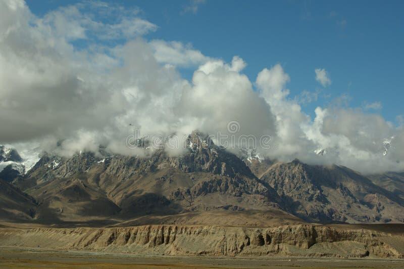 Góra w pamirs zdjęcia stock