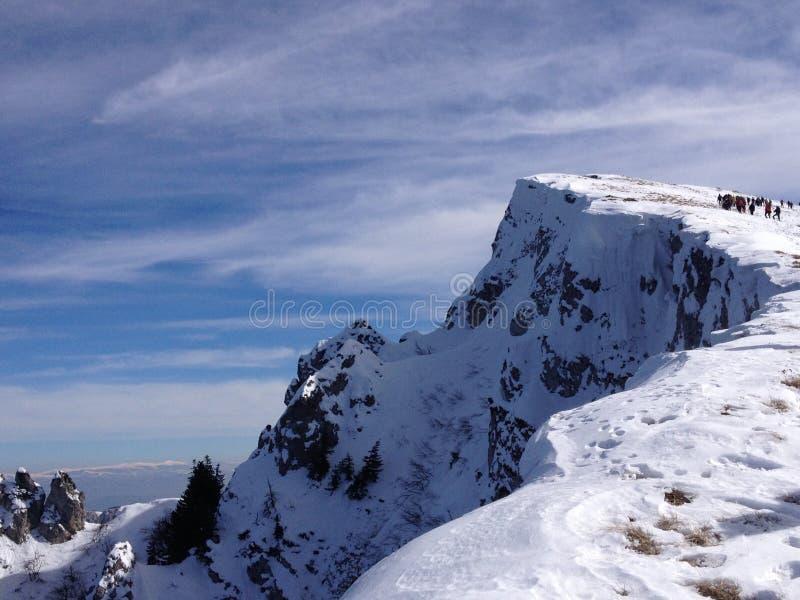Góra w zimie zdjęcia royalty free