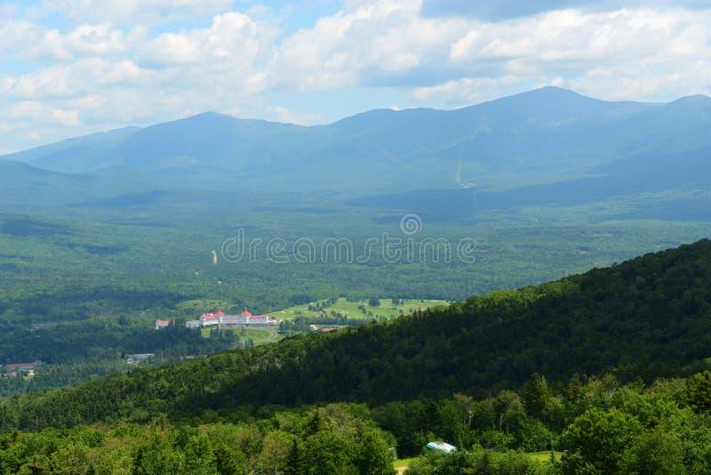 Góra Waszyngtoński hotel, New Hampshire, usa zdjęcie royalty free