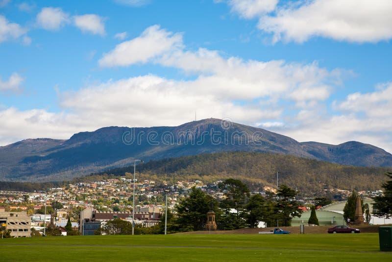 góra widok Wellington obraz royalty free