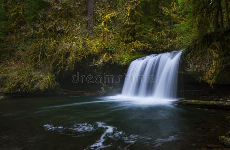 Górni Butte spadki fotografia stock