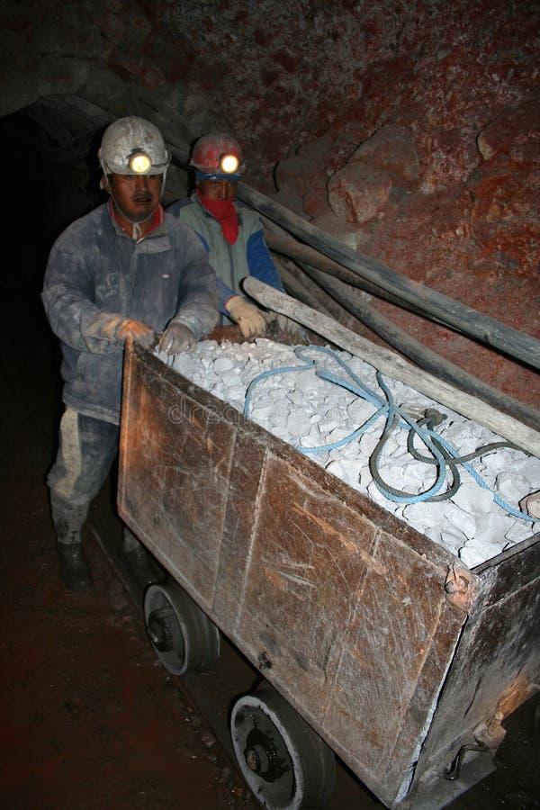 górnicy zdjęcia royalty free