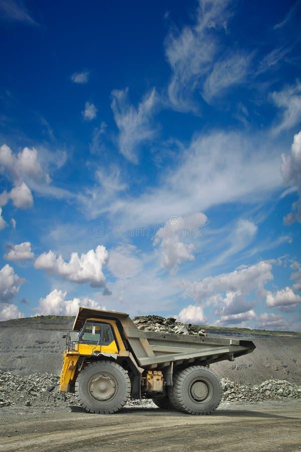 Górnicza ciężarówka obrazy royalty free