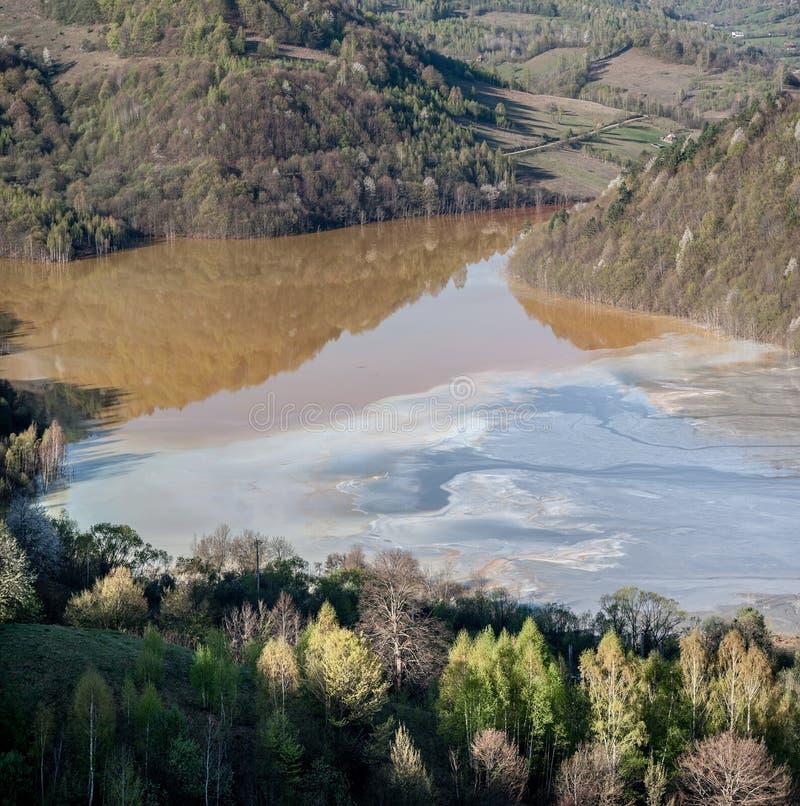 Górnicza katastrofa zdjęcie stock