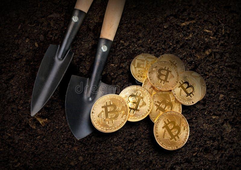 górnicza kryptografia zdjęcie royalty free