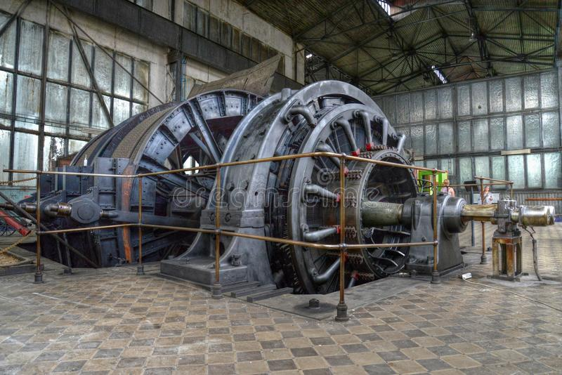 Górnicza maszyna zdjęcie stock