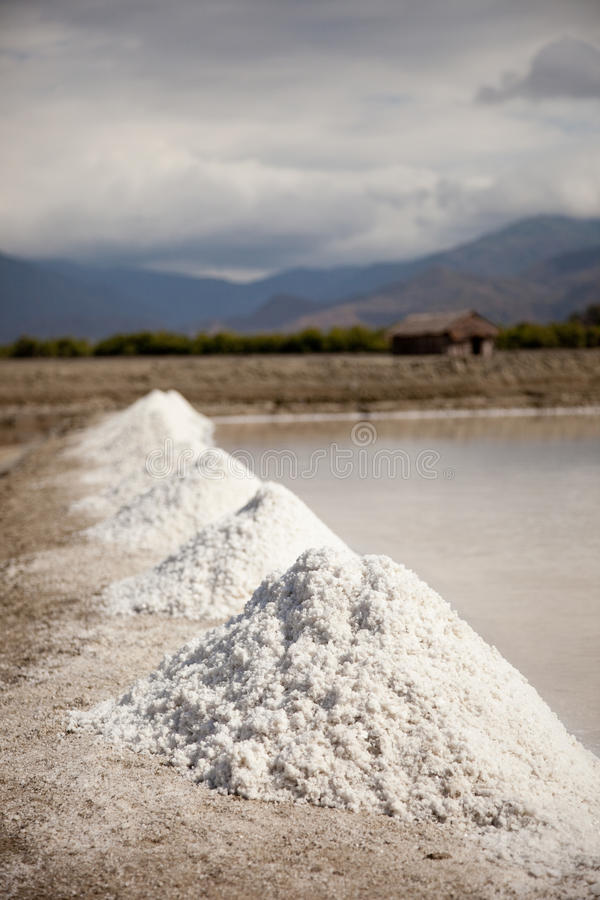 górnicza sól zdjęcie stock
