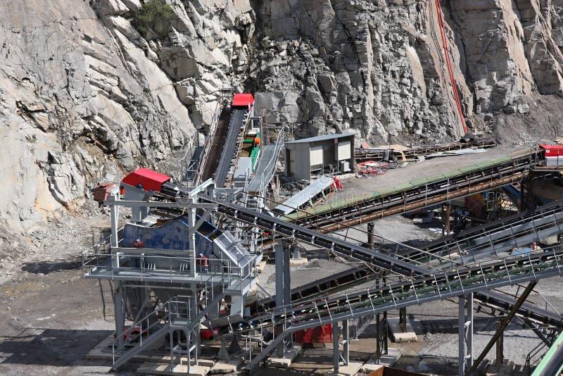 górniczy łup zdjęcie stock