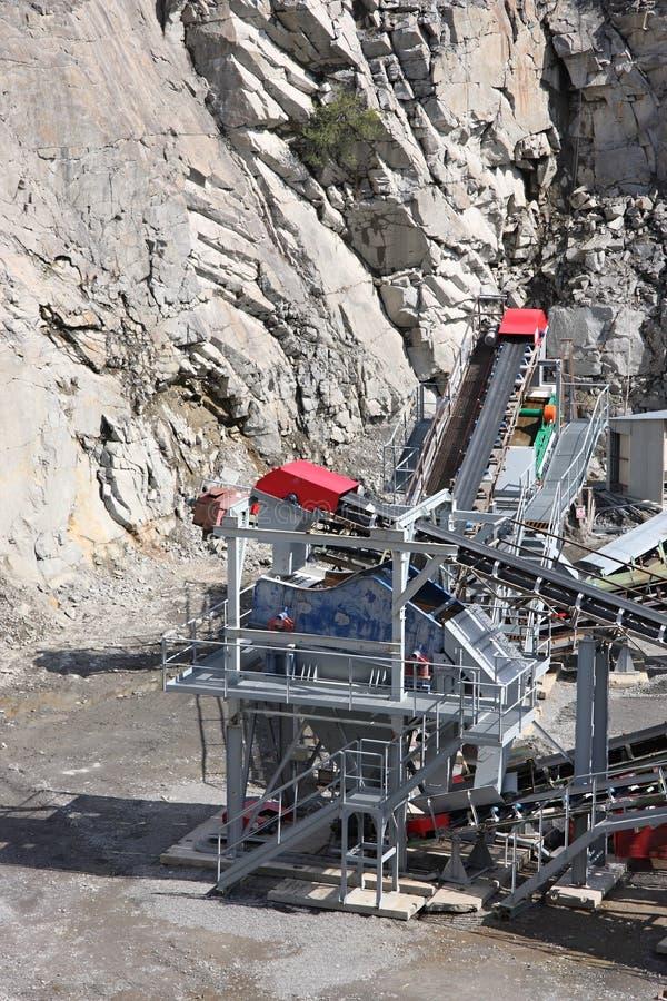 górniczy łup zdjęcia stock