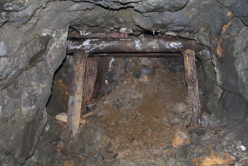 Górniczy muzeum, jego bogactwo i jego, narzędzia zdjęcia royalty free