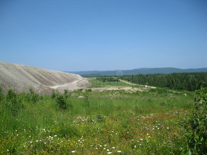 Górniczy sceniczny obraz stock