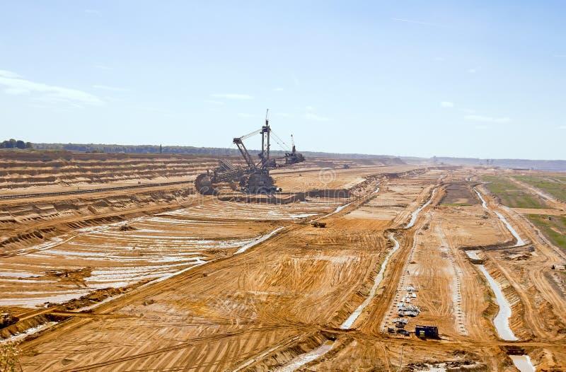 Górniczy Teren zdjęcie stock