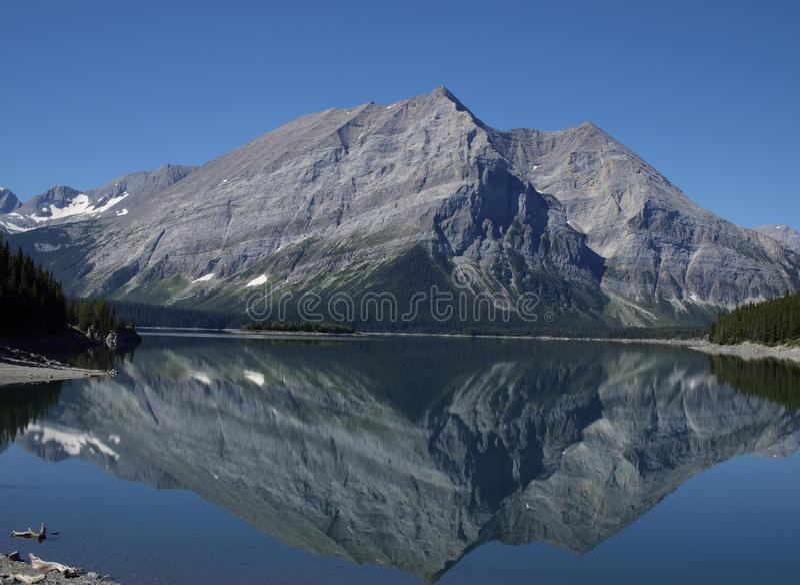 Górny Kananaskis jezioro fotografia stock