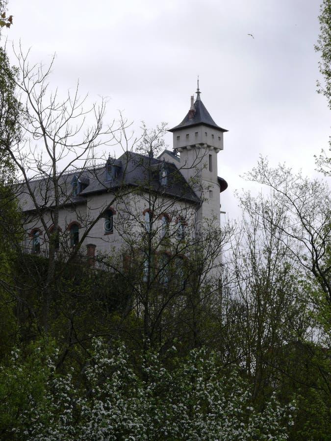 Górska chata De Corbin w Liverdun wydziałowym meurthe Moselle i zdjęcie stock