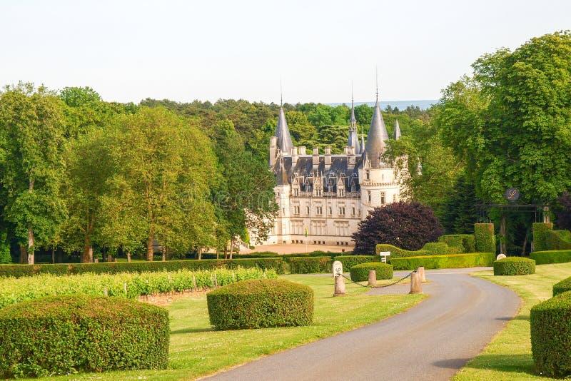 Górska chata Du Nozet, Loire - zdjęcie stock
