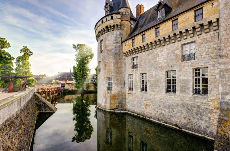 Górska chata Loire, Francja obrazy stock