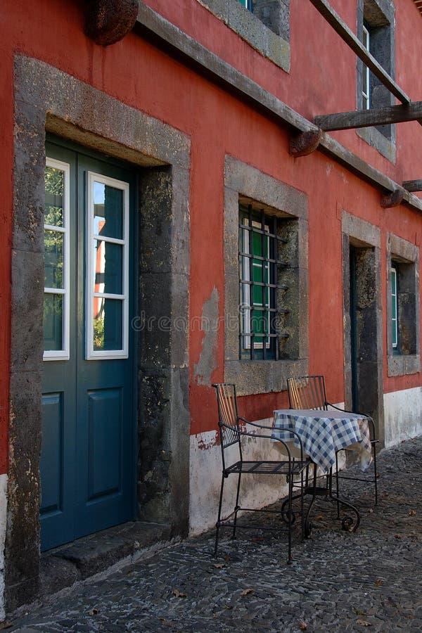 górskiej chaty wino rolny stary zdjęcia stock