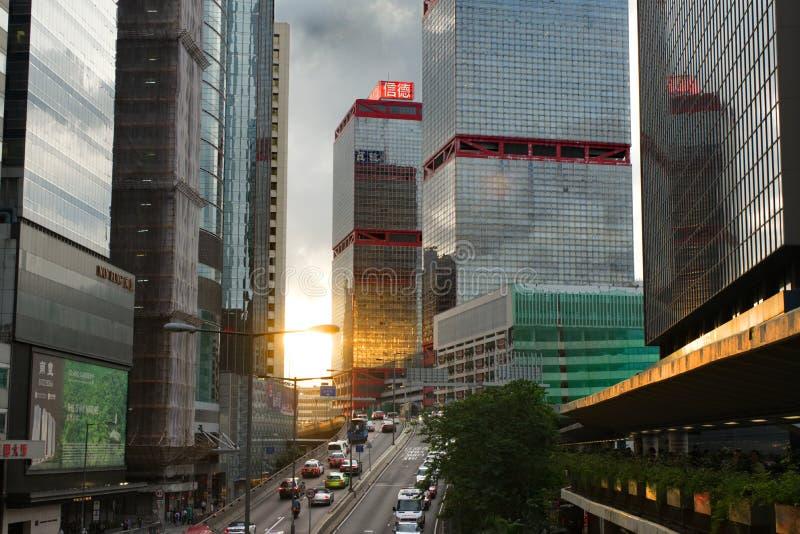 Góruje w Sheung Bladym, Hong Kong fotografia royalty free