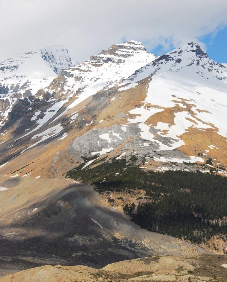 góry śnieżne fotografia royalty free