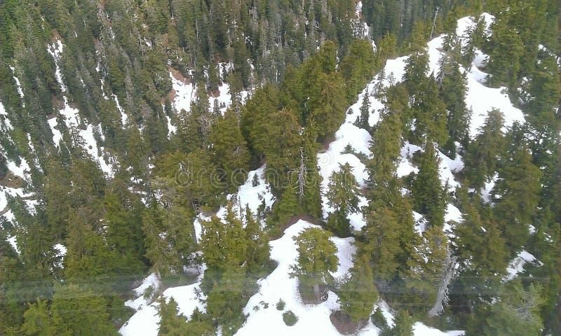 góry śnieżne obraz stock