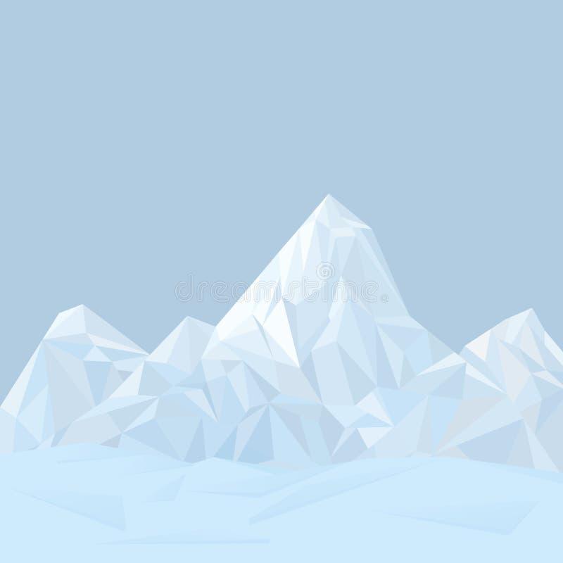 Góry ilustracja wektor