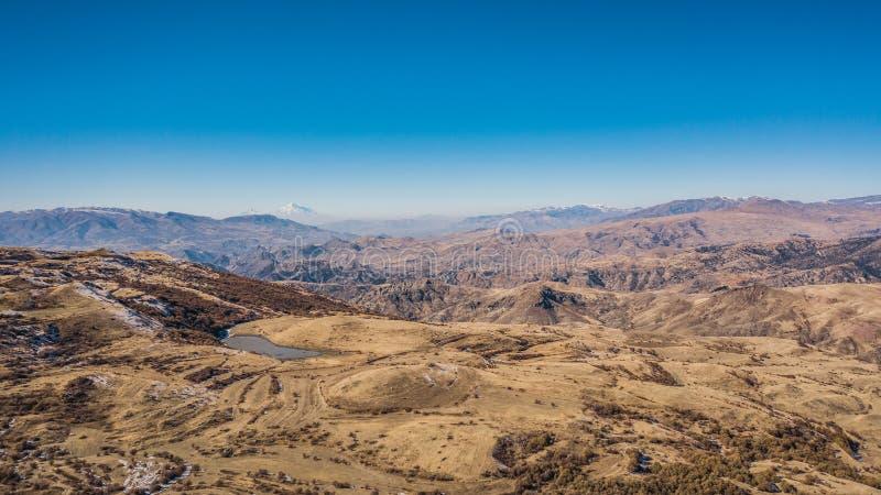 Góry Armenii obrazy royalty free