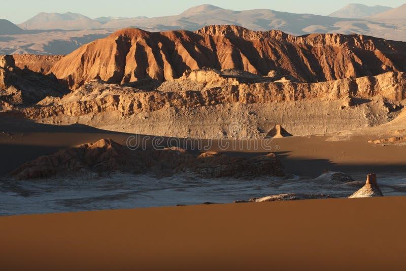 Góry Atacama pustynia w Chile fotografia stock