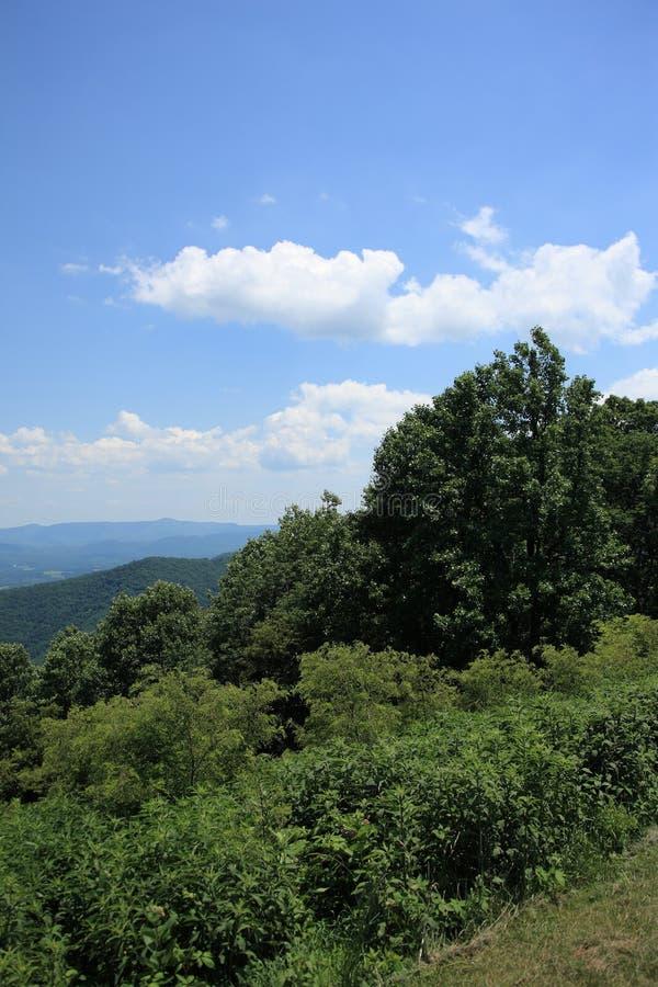 góry błękitny grań Virginia obraz stock