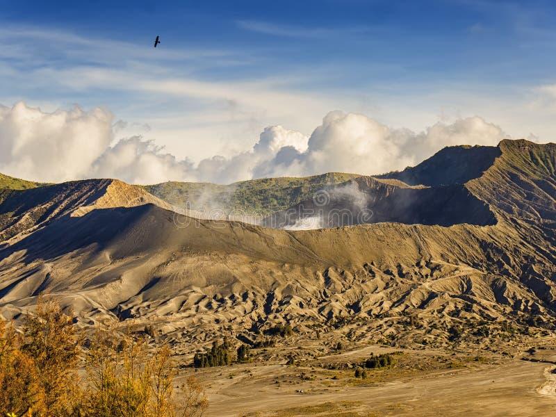 Góry bromo krater obrazy stock