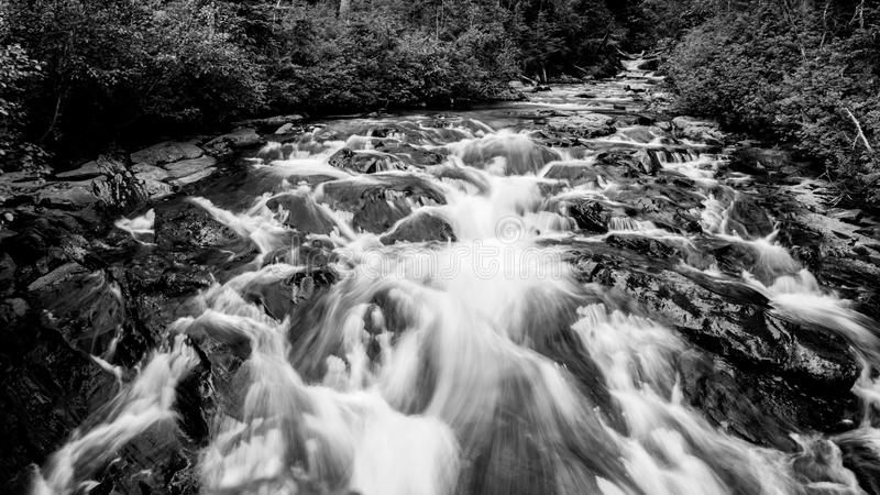 Góry Dżdżysta rzeka zdjęcia royalty free