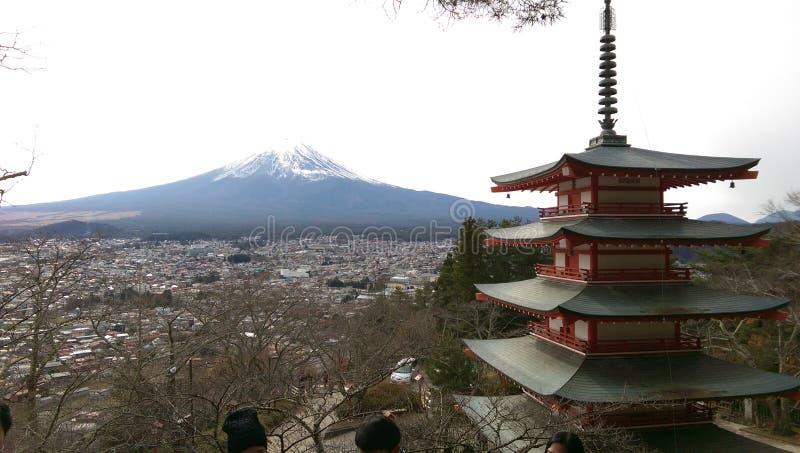 góry fuji fotografia royalty free