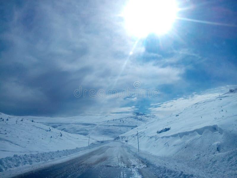 Góry Grecja obrazy stock