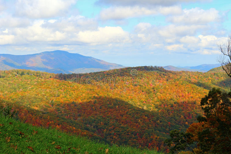 Góry i niebo fotografia royalty free