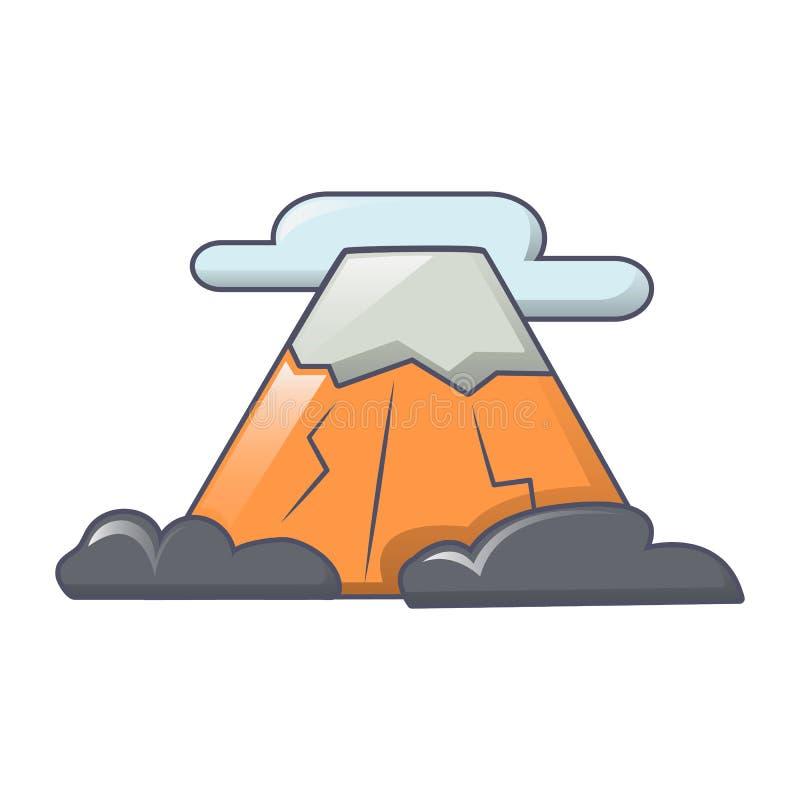 Góry ikony, kreskówka styl ilustracji
