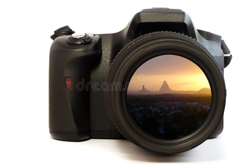 góry kamery słońca zdjęcie royalty free