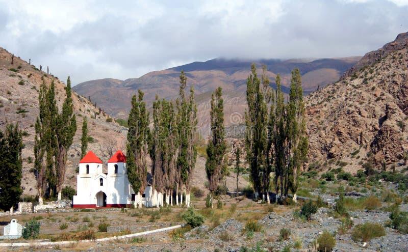 góry kościelne zdjęcie stock