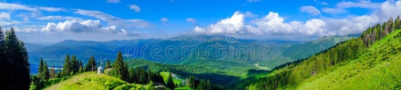 Góry krajobrazowa panorama obraz royalty free