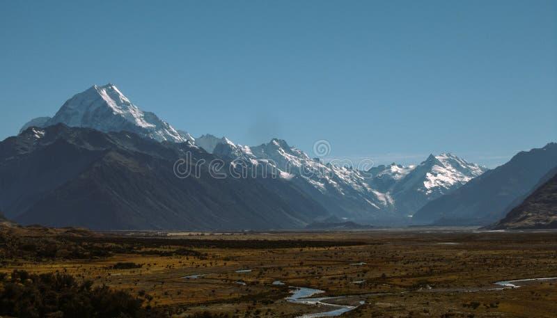 Góry Kucbarska dolina zdjęcie stock