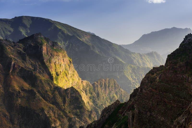 Góry lekka madera zdjęcie royalty free