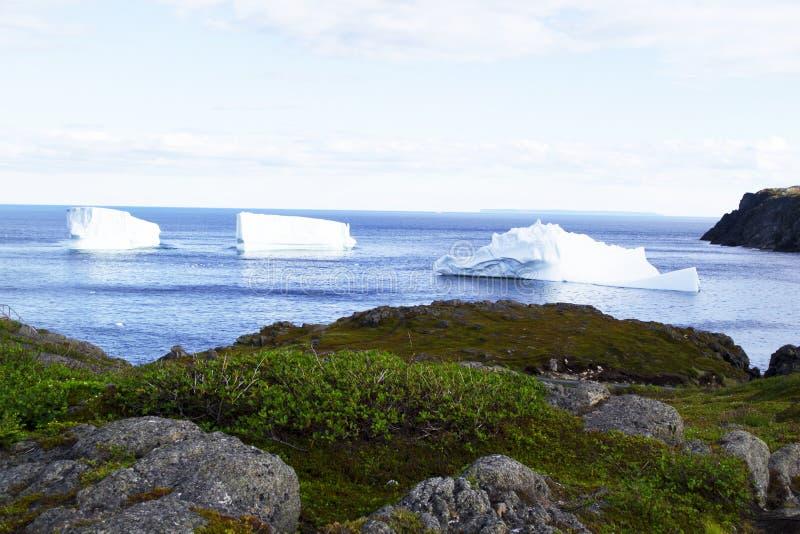 Góry lodowa aleja fotografia stock