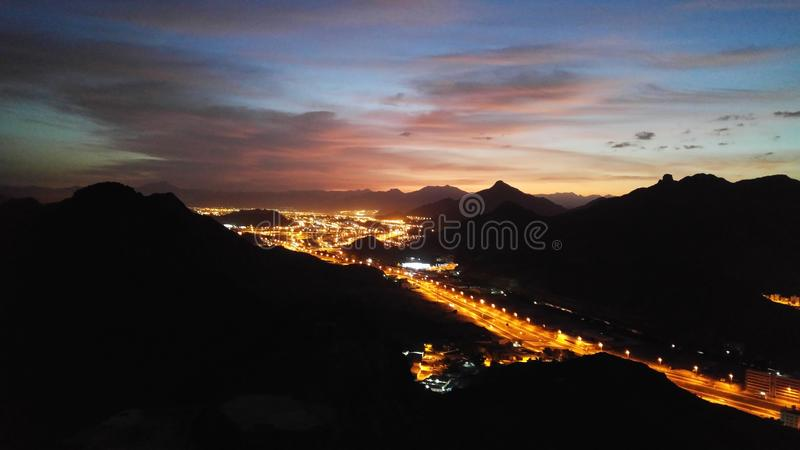 Góry mekka fotografia stock