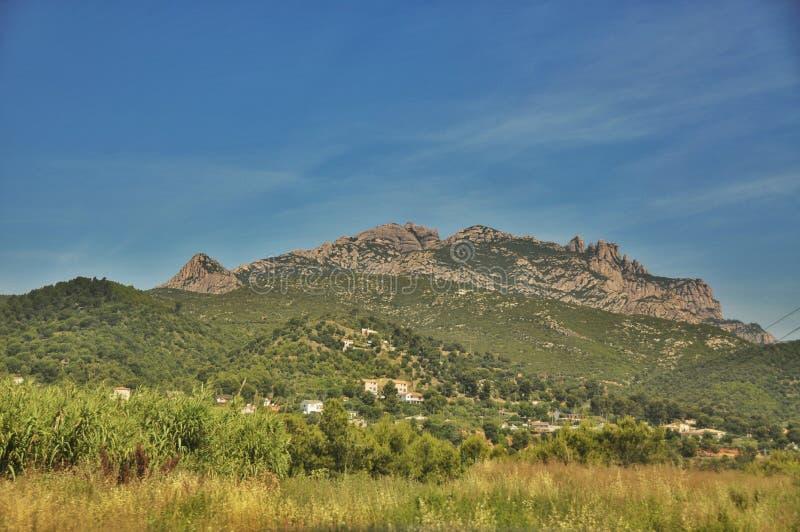 Góry Montserrat obrazy stock