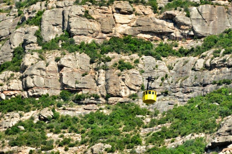 Góry Montserrat obraz stock