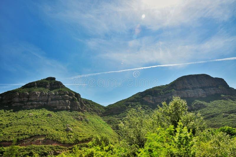Góry Montserrat fotografia royalty free