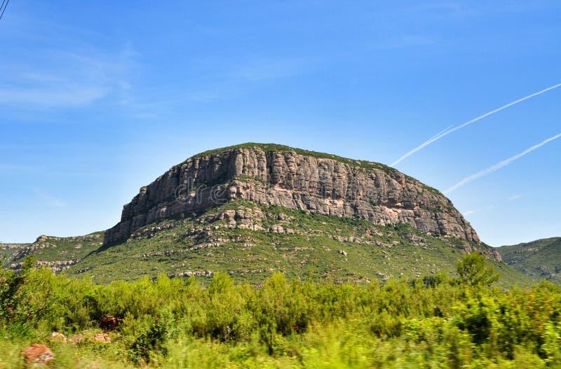 Góry Montserrat zdjęcie stock