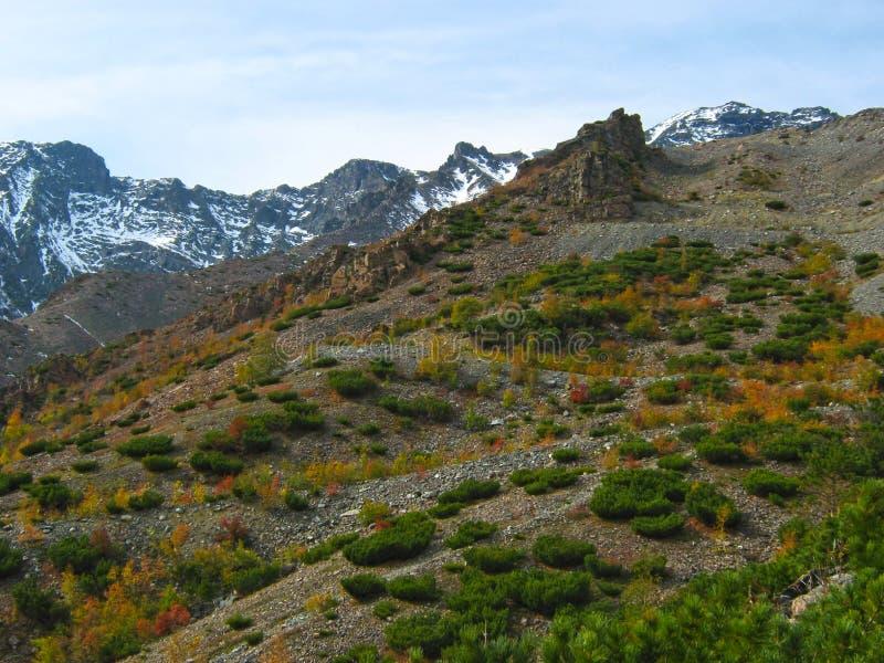 Góry na Jeziornym Baikal fotografia stock