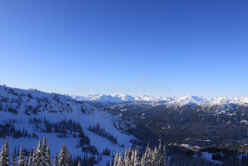 góry narta zdjęcie stock