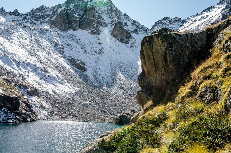 Góry, natura, werteks, turystyka zdjęcia royalty free