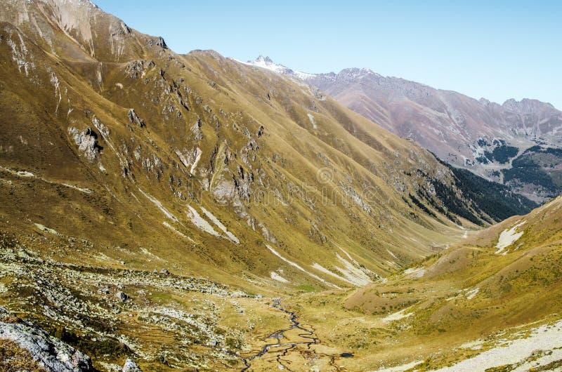 Góry, natura, werteks, turystyka obrazy stock